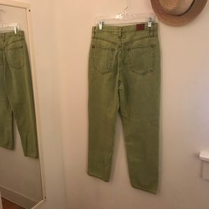 Urban Outfitters Pants - Green Acid-Wash BDG Jeans